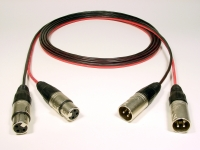 2 CHANNEL FEMALE XLR TO MALE XLR - Product Image