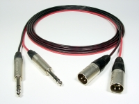 "2 CHANNEL 1/4"" PHONE TO MALE XLR - Product Image"