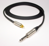 "X-BAND with NEUTRIK 1/4"" PHONE to CANARE GOLD RCA - Product Image"